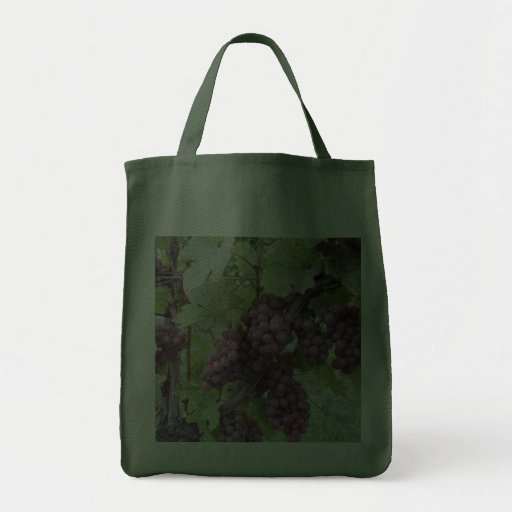 Grapes on the Vine - grocery bag