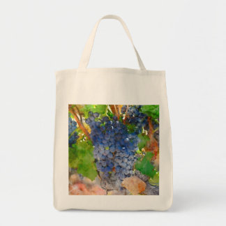 Grapes on the Vine in Napa Valley California Tote Bag