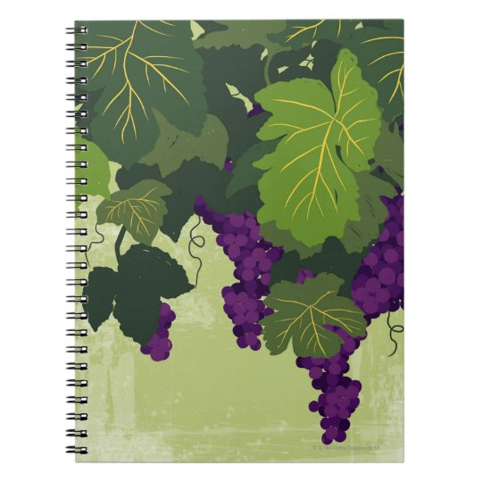Grapes on the Vine Notebook