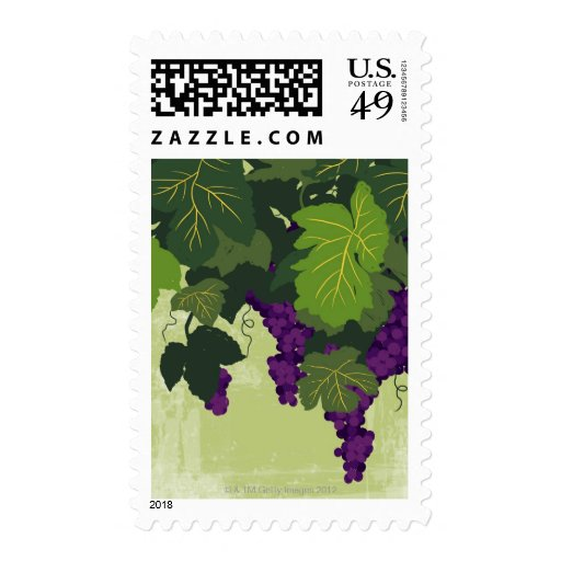 Grapes on the Vine Postage