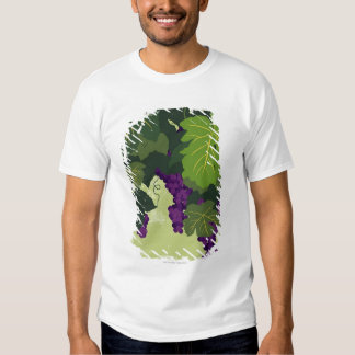 Grapes on the Vine Tee Shirt