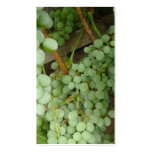 Grapes on the Vine Two Sided Profile Card Double-Sided Standard Business Cards (Pack Of 100)