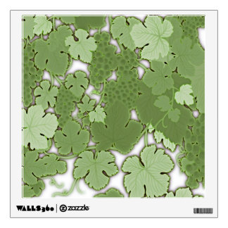 Grapes on the Vine Wall Decal