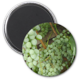 Grapes on the Vine - Wine Country 2 Inch Round Magnet