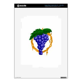 Grapes On Vine iPad 3 Skin