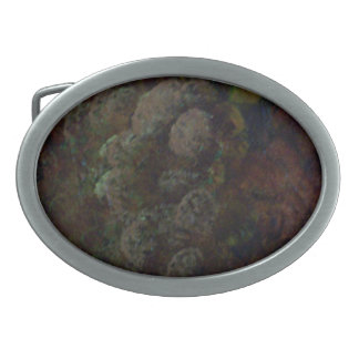 Grapes Oval Belt Buckle