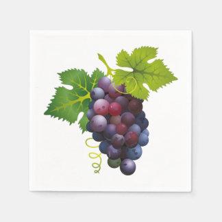 Grapes Paper Napkin