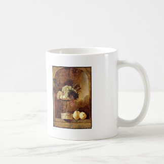Grapes,Peaches,Quinces in a Niche by Frans Snyders Coffee Mugs