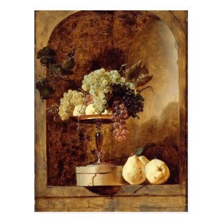 Grapes,Peaches,Quinces in a Niche by Frans Snyders Postcard