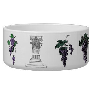 Grapes Pet Bowl