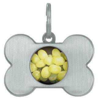 grapes pet ID tags