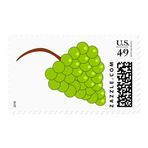 Grapes Postage Stamps