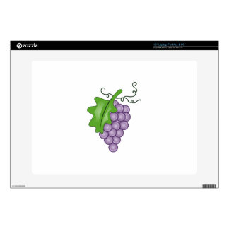 "GRAPES DECAL FOR 15"" LAPTOP"
