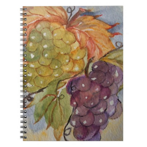 GRAPES SPIRAL NOTE BOOK