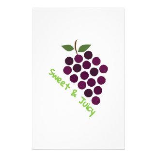 Grapes_Sweet y jugoso Papeleria De Diseño