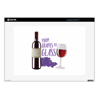 Grapes To Glass Decals For Laptops