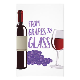 Grapes To Glass Stationery