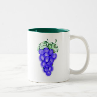 Grapes Two-Tone Coffee Mug