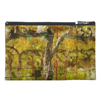 Grapes Vines in Spring in Napa Valley California Travel Accessory Bag