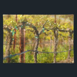 """Grapes Vines in Spring Placemat<br><div class=""""desc"""">Grape Vines in the Spring in Napa Valley California</div>"""