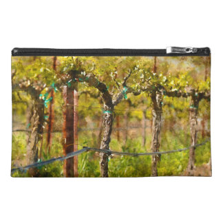 Grapes Vines in Spring Travel Accessory Bag