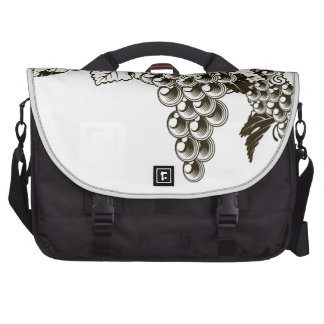 Grapes vintage style design bags for laptop