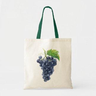 Grapes. Watercolor. Tote Bag