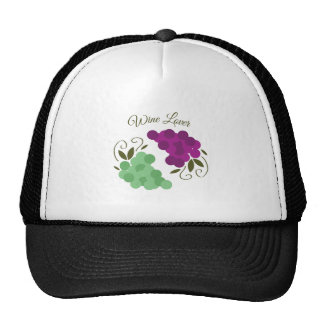 Grapes_WineLover Mesh Hats