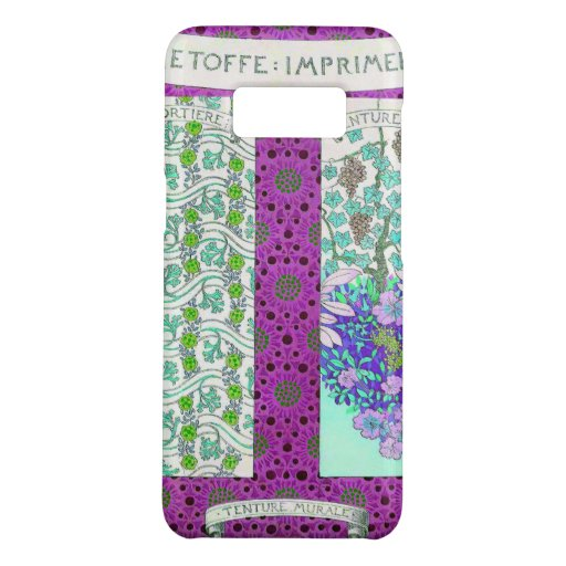 Grapevine and flowers Case-Mate samsung galaxy s8 case