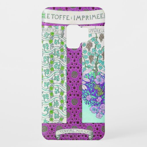 Grapevine and flowers Case-Mate samsung galaxy s9 case