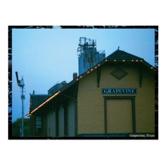 Grapevine Depot Postcard