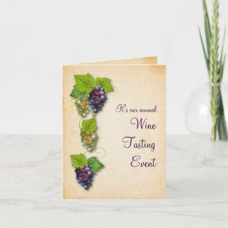 Grapevine Event Card card