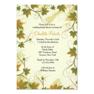 Grapevine Frame Invitation