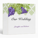 Grapevine Garden Wedding Binder