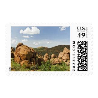Grapevine Hills boulders Stamp