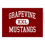 Grapevine - Mustangs - High - Grapevine Texas Cards