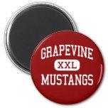 Grapevine - Mustangs - High - Grapevine Texas Refrigerator Magnet