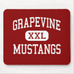 Grapevine - Mustangs - High - Grapevine Texas Mouse Mat