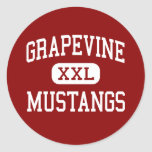 Grapevine - Mustangs - High - Grapevine Texas Stickers