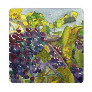 Grapevine Puzzle Coaster