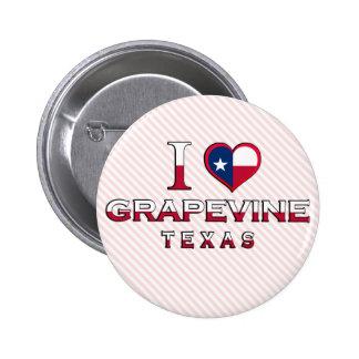 Grapevine, Texas 2 Inch Round Button