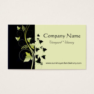 Grapevine Winery Business Card
