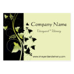 Grapevine Winery Large Business Cards (Pack Of 100)