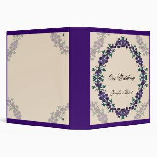 Grapevine Wreath Wedding Binder