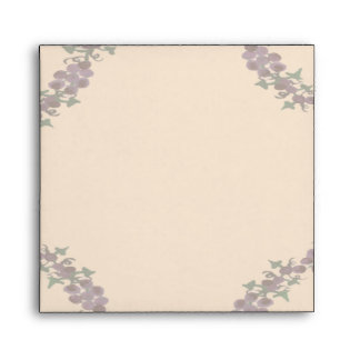 Grapevine Wreath Wedding Envelopes