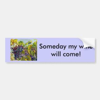 Grapevines Bumper Sticker