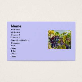 Grapevines Business Card