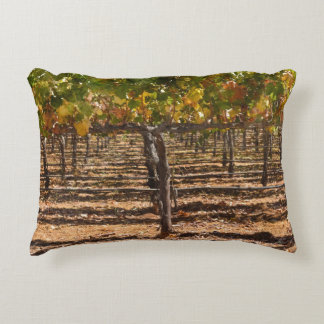 Grapevines in the Fall Accent Pillow