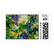 Grapevines Stamp