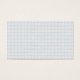 Graph Paper Business Card